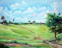 caminos en la pradera