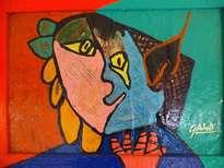 hno. oscr galo ( rostro picassino feliz 40 x 56 cm ( precio us$ 6,000