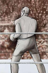 arthur cravan, boxeador, en barcelona 1915