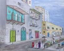 wadi nisnas haifa,down town.