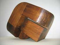 esculturas de madera abstractas