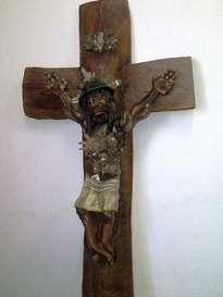 jesus minero crucificado