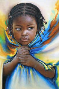 niña de raza negra 83