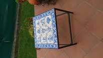 panel de 9 azulejos tradicionales portugueses