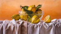 cuenco con limones