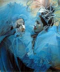 carnaval azulado