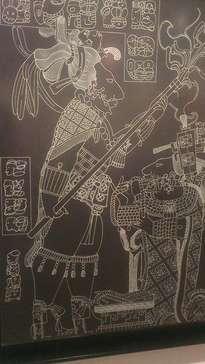 escudo jaguar, rey governante de yaxchilan, chiapas, mexico