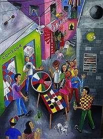 juego de la ruleta en el callejon