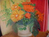 vaso com flores