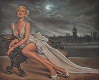 original painting by donka nucheva ellectra