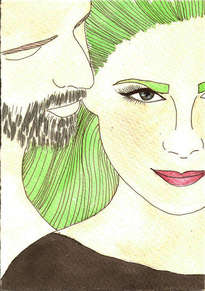 verde pareja