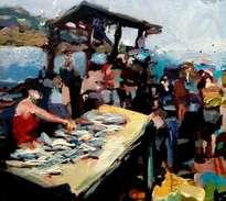 vendedor de pescados