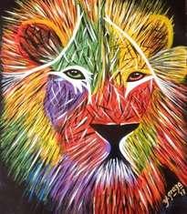 leon de colores