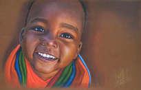 niño de áfrica 80