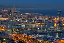el port vell, barcelona
