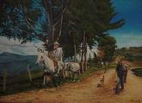 ''camino al pueblo''