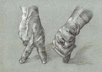 manos estilo durero