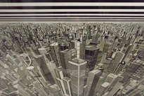 perspectiva claustrofóbica de una ciudad