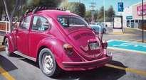el escarabajo rojo.