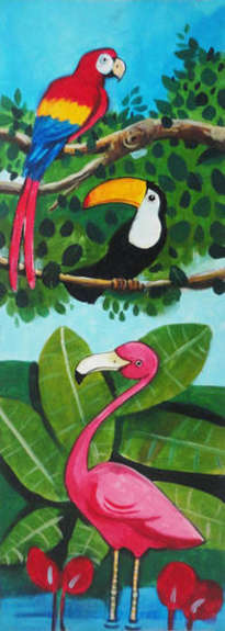 animales en la jungla