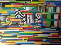 cebra collage