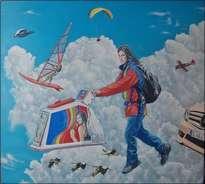 el cielo también tiene su trafico