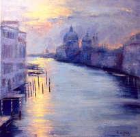 amanece en venecia