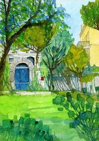 sarriá , el antiguo jardín  ref 555