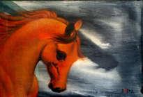 caballo en dorados