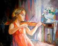 la pequeña artista