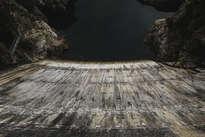 presa del atazar // dam water