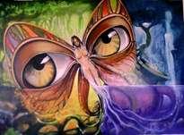 mariposa de mirada lenca