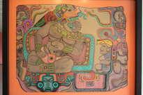 el rey de nebaj y su consejero, guatemala