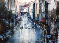 street rain
