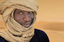 tuareg marrón