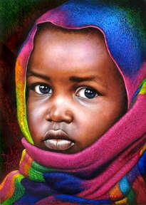 niño de áfrica 70