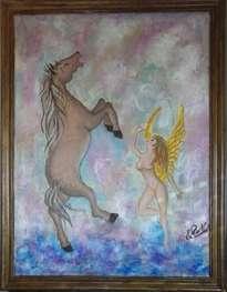 el angel y el caballo