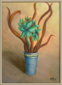 virutas en flor