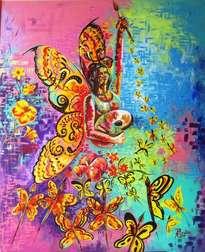 angel de las mariposas
