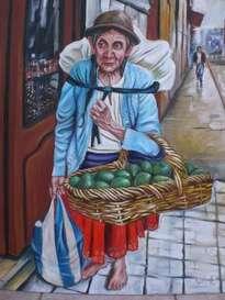 vendedora de frutas