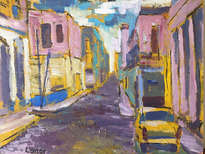 vista calle en cuba