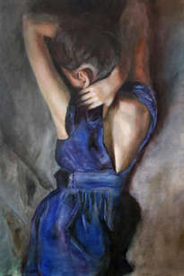 girl in blue