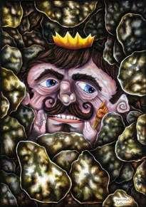 don rey patata. (2003-2009). 29,7 x 42 cm.