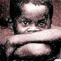 rostro de niño de la calle 5