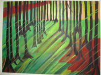 luz y bosque