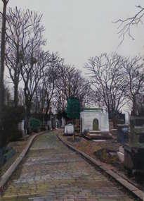 parís. francia. cimetière du père-lanchaise
