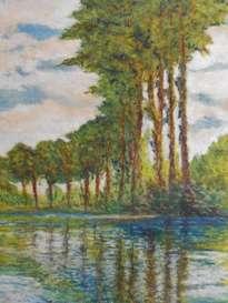 álamos a lo largo del rio epte (monet)