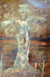el cristo más famoso de méxico un óleo por alberto thirion