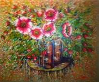 de la serie:  el color amalgamado de mis flora