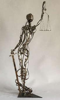 Escultura de la Justicia